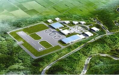 福建龙岩红坊直升机场正式开工