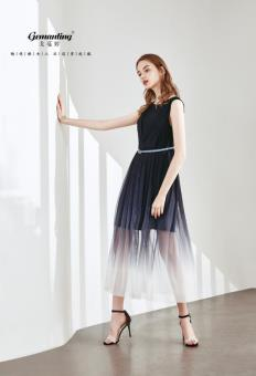 戈蔓婷品牌女装先进模式迅速开拓市场将时尚尽情绽放